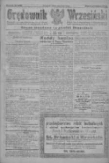 Orędownik Wrzesiński: organ urzędowy na powiat wrzesiński 1922.02.13 R.4 Nr19