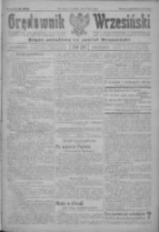 Orędownik Wrzesiński: organ urzędowy na powiat wrzesiński 1922.02.16 R.4 Nr20