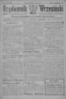 Orędownik Wrzesiński: organ urzędowy na powiat wrzesiński 1922.02.18 R.4 Nr21