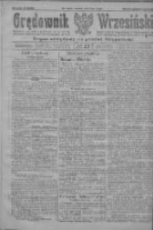 Orędownik Wrzesiński: organ urzędowy na powiat wrzesiński 1922.02.23 R.4 Nr23