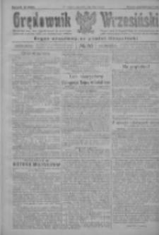 Orędownik Wrzesiński: organ urzędowy na powiat wrzesiński 1922.03.02 R.4 Nr26