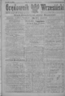 Orędownik Wrzesiński: organ urzędowy na powiat wrzesiński 1922.03.09 R.4 Nr29