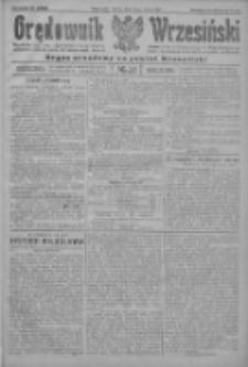 Orędownik Wrzesiński: organ urzędowy na powiat wrzesiński 1922.03.14 R.4 Nr31