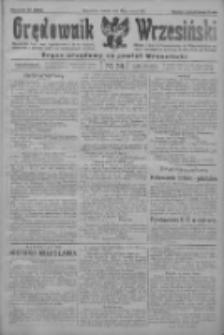 Orędownik Wrzesiński: organ urzędowy na powiat wrzesiński 1922.03.21 R.4 Nr34