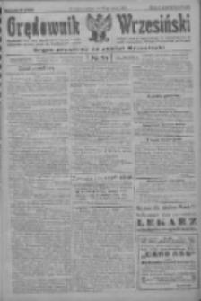 Orędownik Wrzesiński: organ urzędowy na powiat wrzesiński 1922.03.25 R.4 Nr36