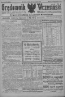 Orędownik Wrzesiński: organ urzędowy na powiat wrzesiński 1922.04.04 R.4 Nr40