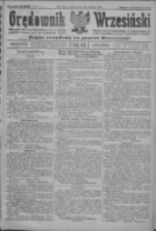 Orędownik Wrzesiński: organ urzędowy na powiat wrzesiński 1922.04.06 R.4 Nr42