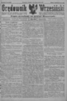 Orędownik Wrzesiński: organ urzędowy na powiat wrzesiński 1922.04.13 R.4 Nr44