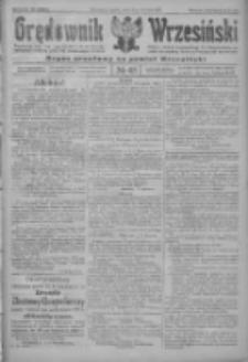 Orędownik Wrzesiński: organ urzędowy na powiat wrzesiński 1922.04.15 R.4 Nr45