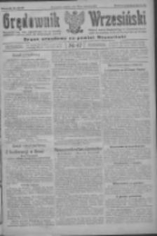 Orędownik Wrzesiński: organ urzędowy na powiat wrzesiński 1922.04.22 R.4 Nr47