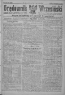 Orędownik Wrzesiński: organ urzędowy na powiat wrzesiński 1922.04.27 R.4 Nr49