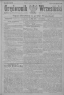 Orędownik Wrzesiński: organ urzędowy na powiat wrzesiński 1922.05.11 R.4 Nr55