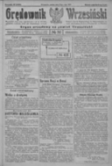 Orędownik Wrzesiński: organ urzędowy na powiat wrzesiński 1922.05.13 R.4 Nr56