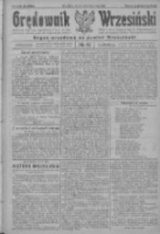 Orędownik Wrzesiński: organ urzędowy na powiat wrzesiński 1922.05.16 R.4 Nr57