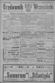 Orędownik Wrzesiński: organ urzędowy na powiat wrzesiński 1922.05.20 R.4 Nr59