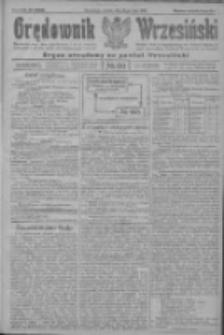 Orędownik Wrzesiński: organ urzędowy na powiat wrzesiński 1922.05.23 R.4 Nr60
