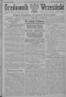 Orędownik Wrzesiński: organ urzędowy na powiat wrzesiński 1922.05.25 R.4 Nr61
