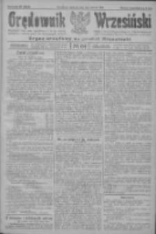 Orędownik Wrzesiński: organ urzędowy na powiat wrzesiński 1922.06.01 R.4 Nr64