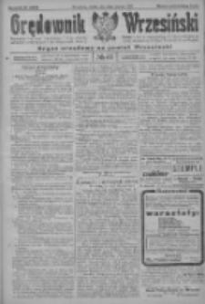 Orędownik Wrzesiński: organ urzędowy na powiat wrzesiński 1922.06.10 R.4 Nr67