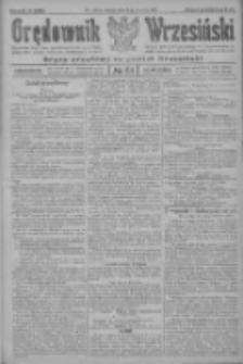 Orędownik Wrzesiński: organ urzędowy na powiat wrzesiński 1922.06.13 R.4 Nr68