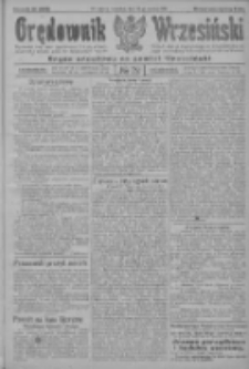Orędownik Wrzesiński: organ urzędowy na powiat wrzesiński 1922.06.22 R.4 Nr72