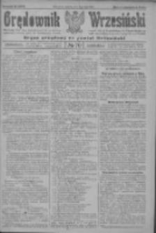 Orędownik Wrzesiński: organ urzędowy na powiat wrzesiński 1922.07.08 R.4 Nr79