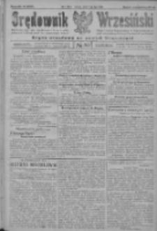 Orędownik Wrzesiński: organ urzędowy na powiat wrzesiński 1922.07.11 R.4 Nr80
