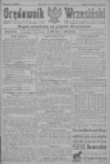 Orędownik Wrzesiński: organ urzędowy na powiat wrzesiński 1922.07.15 R.4 Nr82