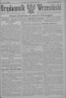 Orędownik Wrzesiński: organ urzędowy na powiat wrzesiński 1922.07.18 R.4 Nr83