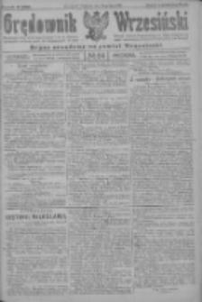 Orędownik Wrzesiński: organ urzędowy na powiat wrzesiński 1922.07.20 R.4 Nr84