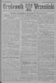 Orędownik Wrzesiński: organ urzędowy na powiat wrzesiński 1922.07.27 R.4 Nr87