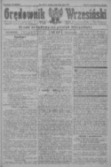 Orędownik Wrzesiński: organ urzędowy na powiat wrzesiński 1922.07.29 R.4 Nr88