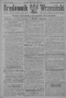 Orędownik Wrzesiński: organ urzędowy na powiat wrzesiński 1922.08.01 R.4 Nr89