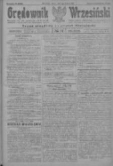 Orędownik Wrzesiński: organ urzędowy na powiat wrzesiński 1922.08.05 R.4 Nr91