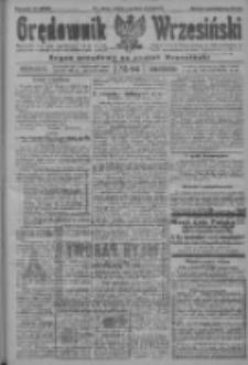 Orędownik Wrzesiński: organ urzędowy na powiat wrzesiński 1922.08.11 R.4 Nr94