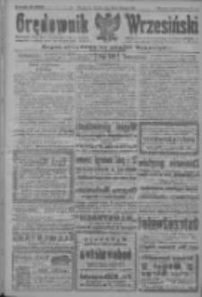 Orędownik Wrzesiński: organ urzędowy na powiat wrzesiński 1922.08.22 R.4 Nr98