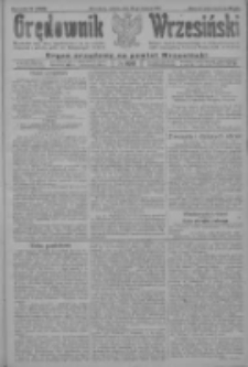 Orędownik Wrzesiński: organ urzędowy na powiat wrzesiński 1922.08.26 R.4 Nr100