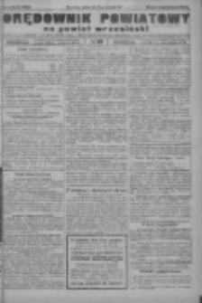Orędownik powiatowy na powiat wrzesiński 1922.09.23 R.4 Nr112