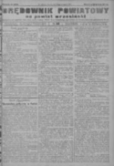 Orędownik powiatowy na powiat wrzesiński 1922.09.26 R.4 Nr113