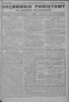 Orędownik powiatowy na powiat wrzesiński 1922.09.28 R.4 Nr114
