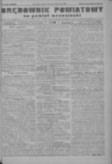 Orędownik powiatowy na powiat wrzesiński 1922.10.03 R.4 Nr116