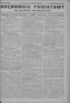 Orędownik powiatowy na powiat wrzesiński 1922.10.05 R.4 Nr117