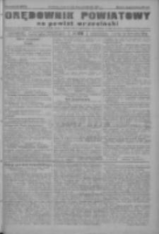 Orędownik powiatowy na powiat wrzesiński 1922.10.19 R.4 Nr123