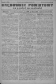 Orędownik powiatowy na powiat wrzesiński 1922.10.21 R.4 Nr124