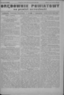 Orędownik powiatowy na powiat wrzesiński 1922.10.24 R.4 Nr125