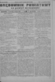 Orędownik powiatowy na powiat wrzesiński 1922.10.26 R.4 Nr126