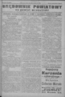Orędownik powiatowy na powiat wrzesiński 1922.10.28 R.4 Nr127