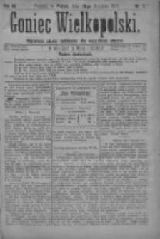 Goniec Wielkopolski: najtańsze pismo codzienne dla wszystkich stanów 1879.01.10 R.3 Nr7