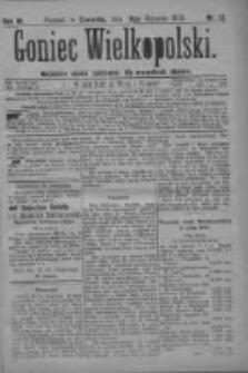 Goniec Wielkopolski: najtańsze pismo codzienne dla wszystkich stanów 1879.01.16 R.3 Nr12