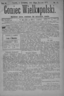 Goniec Wielkopolski: najtańsze pismo codzienne dla wszystkich stanów 1879.01.23 R.3 Nr18